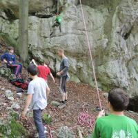První týden oddílové činnosti a Dračí výprava na Bajerku