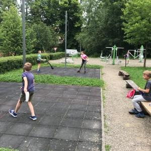 Výprava Lišek do lanového centra