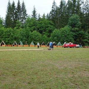 Tábor - den patnáctý