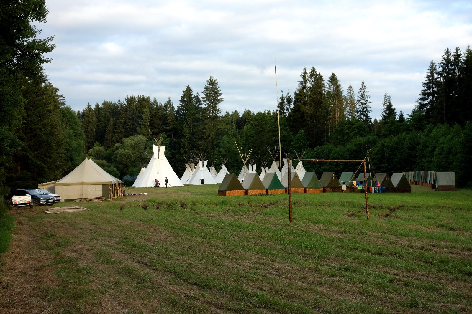Tábor - den druhý
