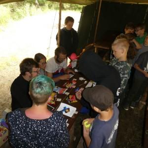 Tábor  - den čtvrtý