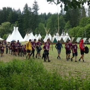 Tábor - den pátý