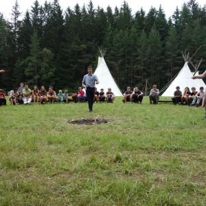 Tábor - den šestý