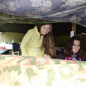 Tábor - den osmý