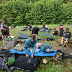 Tábor Březí 2021 15. poslední den tábora